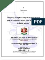 Kingfisher report on market reserch subhkaran Bishnoi