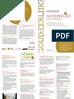 Goud Eerlijk FolderA5