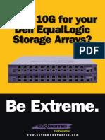 Dell Equallogic 10G iSCSI