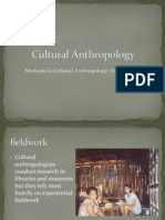 Cultural Anthropology Research Methods