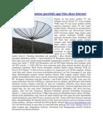 Cara Modifikasi Antena Parabola Agar Bisa Akses Internet
