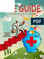 The Guide to Philanthropy & Giving 2013