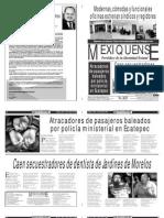 Versión impresa del periódico El mexiquense  24 julio 2013
