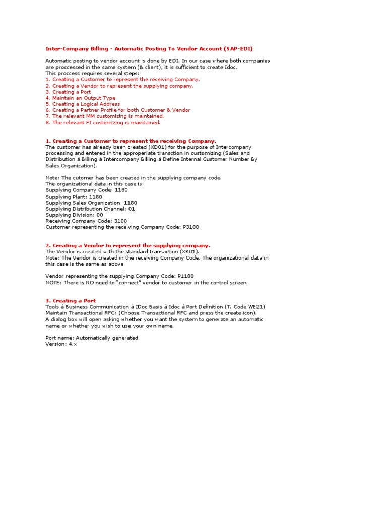 Intercopmany Idoc   Electronic Data Interchange   Databases
