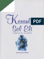 Karanligin Sol Eli Ursula K Le Guin