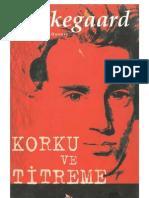 Korku Ve Titreme S Kierkegaard