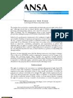 ALYANSA Student Code Position Paper