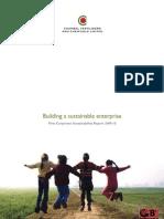 Building a Sustainable Enterprise