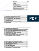 Variante examen iunie 2013