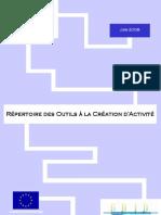 repertoire Outils d'aides à la création d'activitésCRES Auvergne