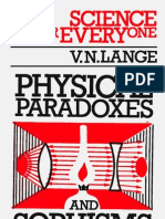 Sfe Physical Paradoxes and Sophisms