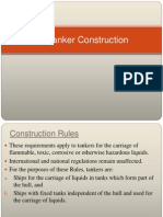 Oil Tanker Construction Rules