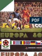 Panini Euro 1980