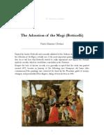 (E) The Adoration of the Magi (Botticelli)