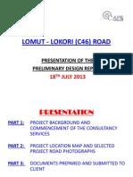 01_Preliminary Design Presentation July 18 2013