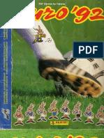 Panini Euro 1992