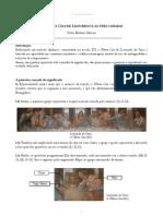(P) A Última Ceia de Leonardo e as três camadas