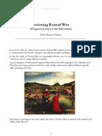 (E) Reviewing Konrad Witz - an ingenious artist of the 15th century