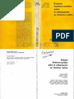 Ensayos histórico-sociales sobre la urbanización en América Latina