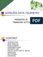 WIRELESS DATA TELEMETRY BY DEV.ppt