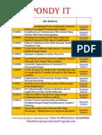 Bio Medical 2013-2014