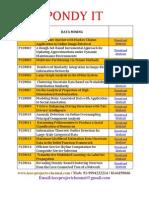 Data Mining 2013-2014