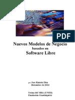 Nuevos Modelos Negocio basados en software libre