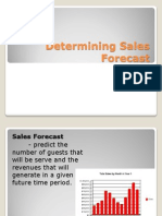 Chapter 2. Determining Sales Forecast