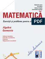 Preview Matematica-Exercitii Si Probleme Pentru Clasa a VI-A-Algebra-Geometrie