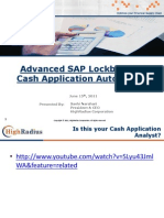 Advanced SAP Lockbox and Cash Application Automation