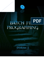 Batch File Programming