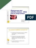 Staphylocoque doré méticilline résistant