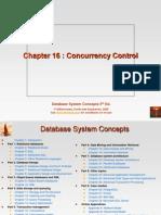 KorthDB5 p5 Ch16 Concurrency Control