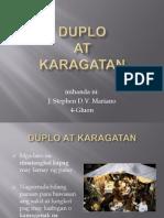 Duplo at Karagatan