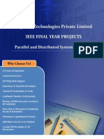 Final Year IEEE Project 2013-2014  - Parallel and Distributed Computing Project Title and Abstract