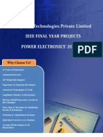Final Year IEEE Project 2013-2014  - Power Electronics Project Title and Abstract