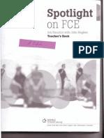 0662185 79EF6 Nauton j Hughes j Spotlight on Fce Teacher s Book