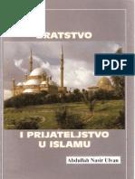 Bratstvo i Prijateljstvo u Islamu Abdullah Nasir Ulvan