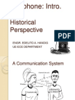 Intro Lesson- History of the Telephone