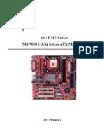 MSI 661FM2-V (MS-7060)