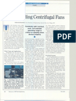 UnderStanding Centrifugal Fans
