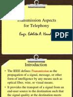 Lesson5 - Transmission Aspects