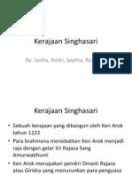 presentasi Kerajaan Singhasari