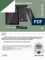 Manual de Atualização tablet
