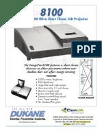Dukane 8100 Projector