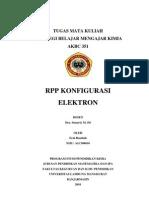 Konfigurasi Elektron Kls Xi