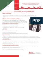 Avery Dennison 9825 Tabletop Bar Code Printer