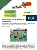 Atlético-MG tenta virada e o título da Libertadores