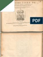 Morlaye Troisiesme Livre de Tabulature de Leut