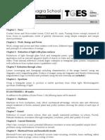 Std 10 Phy Plan 2013-14